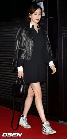 Jung Ryeo Won movie 'Chinatown' VIP premiere 27 April 2015
