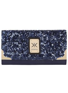 Kardashian blue sequin wallet - Shop the full Kollection - Kardashians - Dorothy Perkins United States Kardashian Kollection, Petite Outfits, Womens Fashion Online, Sequins, Purses, Satchels, My Style, Clutches