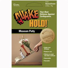 QuakeHOLD�2.6 oz Putty Adhesive