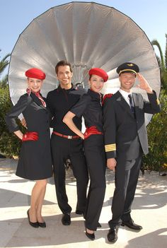 airberlin cabin crew uniform