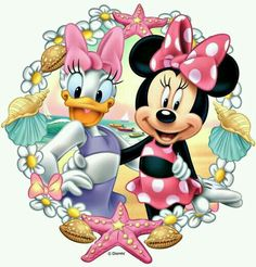 Minnie y Daisy