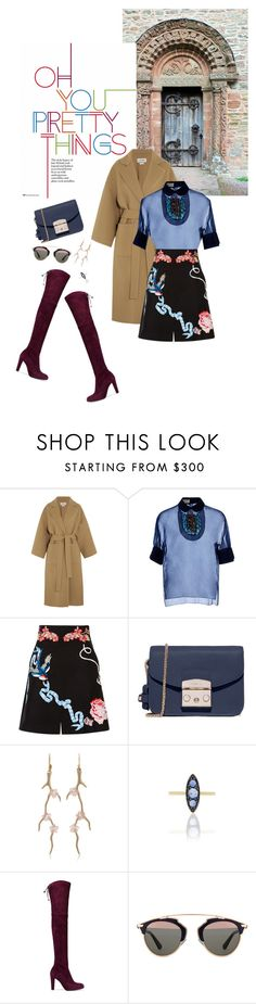 """""""Fall 2016: Trendy and chic"""" by ecletica-and-chic ❤ liked on Polyvore featuring Loewe, Delpozo, Temperley London, Furla, Annette Ferdinandsen, Ila, Stuart Weitzman and Christian Dior"""