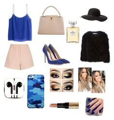 """""""Chanel NR 5°"""" by michelle-jovanovic ❤ liked on Polyvore featuring Finders Keepers, H&M, Gianvito Rossi, Louis Vuitton, Charlotte Russe, Givenchy, PhunkeeTree, Chanel, Lottie and Bobbi Brown Cosmetics"""