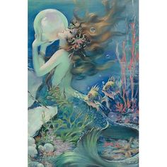 Found it at Wayfair - 'The Mermaid' by Henry O'Hara Clive Painting Print