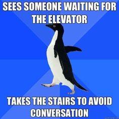 Elevators.