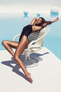 The swimsuit bloggers give the people what they want—more bikinis. More about the swimwear, here.