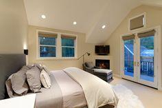 Clean contemporary Master Bedroom