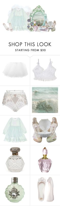 """another ocean-themed set"" by aurenfaie ❤ liked on Polyvore featuring For Love & Lemons, WALL, Von Vonni, True Religion and mel"