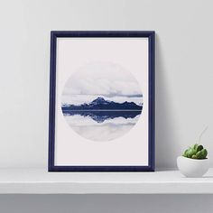 Hey, I found this really awesome Etsy listing at https://www.etsy.com/listing/546557222/modern-nature-art-print-mountain-poster