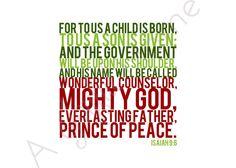 Printable Bible verse, Scripture print, Christian wall art decor ...
