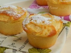 muffin sofficissimi yogurt mele