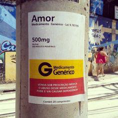 More details of the work, place and artist: http://streetartrio.com.br/artista/desconhecido/compartilhado-por-raulfernandoisidoro-em-mar-04-2015-1637/ /  #adesivo #amor #artederua #arteurbana #decal #genericdrug #generico #graffiti #graffitiart #grafite #lambelambe #love #medicamento #medicamentogenerico #oqueasruasfalam #poste #remedio #riodejaneiro #santateresa #sticker #streetart #streetartrio #urbanart #streetphotography #buildinggraffiti #graffitiart #art #streetart #handmade #street…