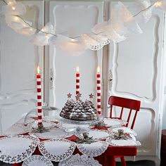 red and white and festive all over! | housetohome.co.uk