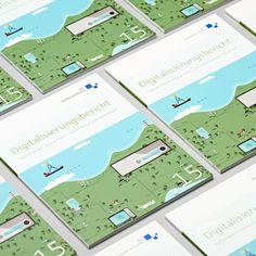 Digitisation – the customer magazine from diemedienanstalten  #iIlustration #illustartiondesign #marketing #branding #editorialdesign