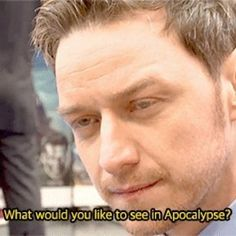 When he gave this hilariously vain reply to a red carpet interviewer. | 21 Times James McAvoy Was Weird, Hilarious, And Adorable