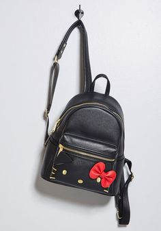 ModCloth for Hello Kitty Pop Culture Cutie Backpack in Black Sanrio a287c05cea53d