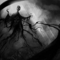 Gellert Grindelwald, Beast Creature, Cartoon Monsters, Deities, Harry Potter, Creatures, Instagram Posts, Sketch, Painting