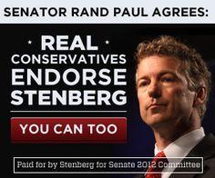 Real Conservatives Endorse Stenberg.