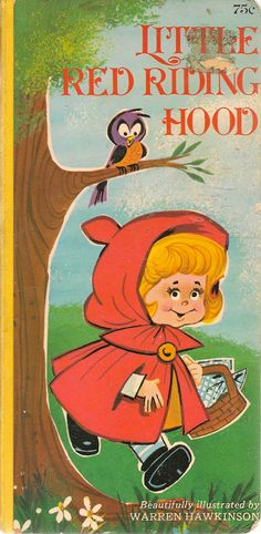 VINTAGE KIDS BOOK Little Red Riding Hood by HazelCatkins on Etsy, $20.00
