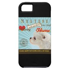 A Loving Maltese Makes Our House Home iPhone 5 Case