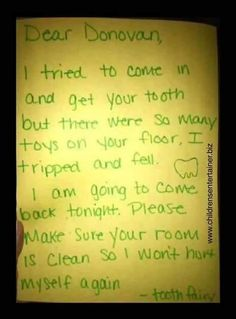 Tooth Fairy, Just Kidding, Activities For Kids, It Hurts, Parenting, Cleaning, Make It Yourself, Personalized Items, Grandkids