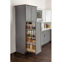 "Latitude Run Nordland 85.9"" H x 41.8"" W Over Bed Shelving Unit   Wayfair Kitchen Pantry Design, New Kitchen, Kitchen Ideas, Rustic Kitchen, Kitchen Inspiration, Kitchen Pantry Cabinets, Armoire Pantry, Kitchen Modern, Very Small Kitchen Design"