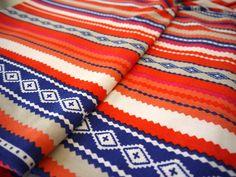 Neon Tribal Fabric / Geometric Aztec Fabric by the yard!