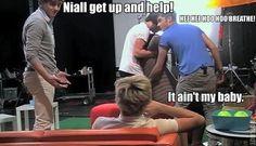 Hahaha Niall :)>> literally me XD