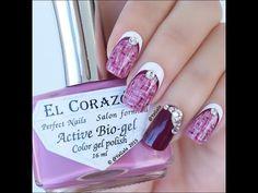 "Fall nail art. Tweed nail design / Осенний дизайн - http://47beauty.com/nails/index.php/nail-art-designs-products/  Hello!  In this video I use: *El Corazon base coat No423 and nail polishes El Corazon No423/290, No423/277, No423/278 and No423/270 from http://en.elcorazon-shop.com use my code ""yagala-ec10%"" to get 10% off on http://en.elcorazon-shop.com *Fast drying top coat http://glistenandglow.bigcartel.com *""Pure Color 10"" nail art brush from  http://"