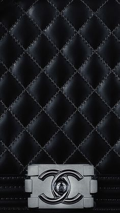 Chanel Black Wallpaper IPhone 7 Screensever
