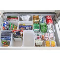 30 Insanely Smart DIY Kitchen Storage Ideas - Best Home Ideas and Inspiration Freezer Organization, Kitchen Organisation, Diy Kitchen Storage, Organization Hacks, Kitchen Bar Counter, Small Space Interior Design, Storage Hacks, Food Storage, Tidy Up