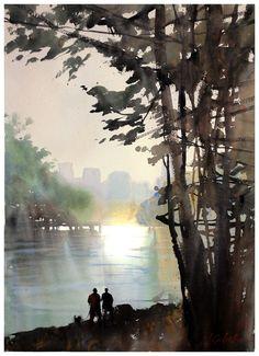 Thomas W Schaller: Northwest Watercolor Socierty