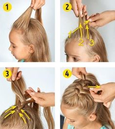 Hairstyles Baby Girl Hairstyles hairstyles You are in the right place about toddler hairstyles girl Easy Toddler Hairstyles, Easy Little Girl Hairstyles, Flower Girl Hairstyles, Braided Hairstyles, Latest Hairstyles, Latest Haircut, Softball Hairstyles, Hairstyles For Toddlers, Easy Hairstyles For Medium Hair For School