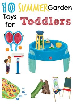 Toddler Garden Play Recommendations - Life At The Zoo