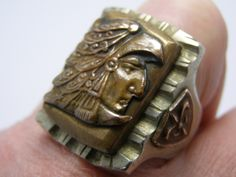SALE++Vintage+Antique+Mexican+Mexico+Aztec+Eagle+by+HiddenHistory,+$345.00