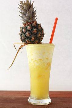 Pineapple Rum with Ginger