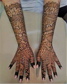 8 Indian Mehndi Designs for Hands That Will Make You Look Your Bridal Best!