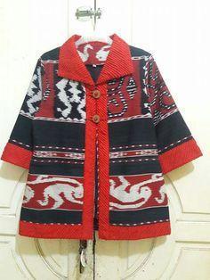 Blouse Blouse Batik Modern, Batik Blazer, Mode Batik, Long Dress Design, Batik Fashion, Mode Top, Brokat, Batik Dress, Traditional Fashion