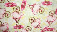 SPECIAL! Free Spirit Tina Givens Riddles & Rhymes Unicycle TG153 Strawberry BTY by HouseOfJdawn on Etsy