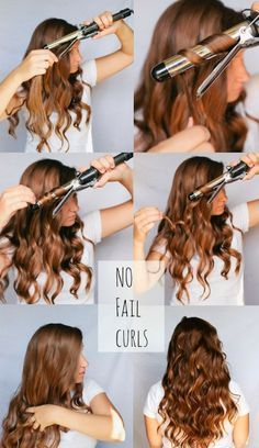how to use a 1 1/2 inch curling iron - Google Search