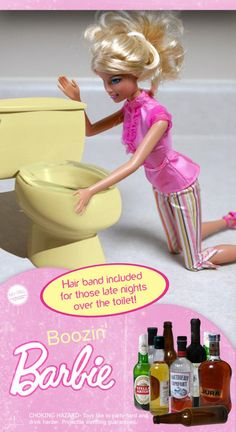 If It's Hip, It's Here: Barbie Gone Bad. Works From The Annual Altered Barbie Exhibit Barbie Funny, Bad Barbie, Barbie And Ken, Barbie Humor, Girl Barbie, Barbie Dream, Barbie Stuff, Doll Stuff, Barbie In Real Life