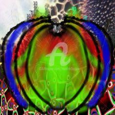 Artischocke (Digitale Künste) von Manfred Hoppe