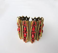Golden-Red-Bracelet