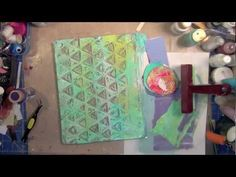 Creative Play: Intro to Gelli Printing. I could hardly wait to get my hands on one (Gelli printing plate)! And now that I have it - I find that I want to get it out at least once or twice a week...just to see what I can create. Here is a little introduction tutorial...