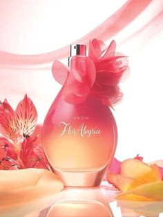 Let yourself blossom with Avon Flor Algeria's bright and exhilarating scent of crimson passion fruit, Bulgarian rose petals and playful blue iris #AvonRep