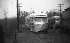 DC TRansit Silver Sigtseer PCC and other streetcars.