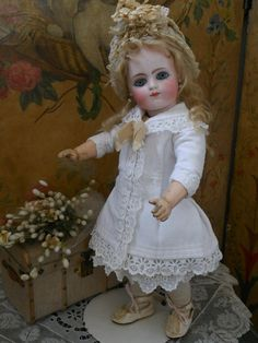~~~ Rare Early Period French Bisque BeBe by Gaultier ~~~ from whendreamscometrue on Ruby Lane