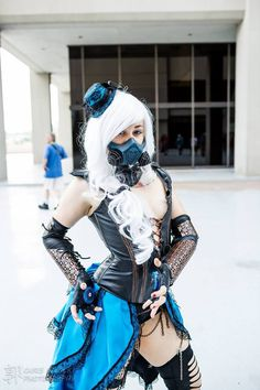 Cosplayer: Faasnu Cosplay  Character: Steampunk Frost Series: Mortal Kombat: Deadly Alliance Photographer: Chris Kwock Photography  Country: United States