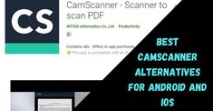 Top 10 Best CamScanner Alternatives For Android and iOS 2020 Document Scanner App, Office Lens, Optical Character Recognition, All Smartphones, Ios, Alternative, Android