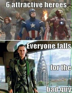 My screen is melting. That's how hot Loki is. <<< Soeh, truth here is that I'm not entirely devoted to Loki, though Tom Hiddleston as Loki is sure to be my favourite for all it's worth. Tom Hiddleston in general is just amazing. Marvel Avengers, Marvel Jokes, Marvel Comics, Funny Marvel Memes, Dc Memes, Avengers Memes, Marvel Universe, Funny Shit, Hilarious